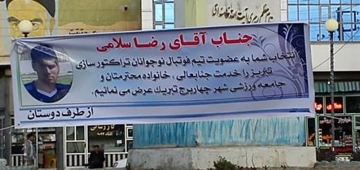 رضا سلامی چهاربرج