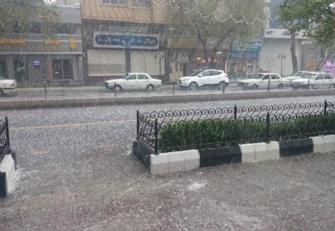 بارش های آذربایجان