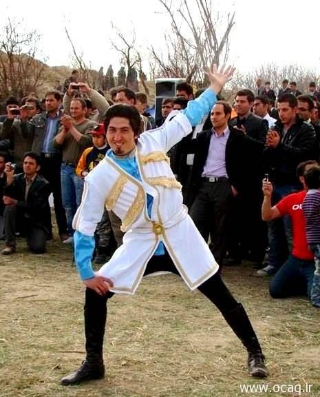 بهزاد خدابندهلو، هنرمند رقص آذربایجانی