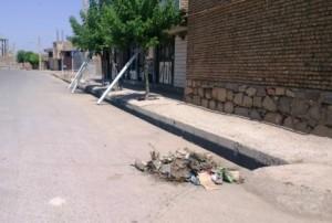 چهاربرج؛ شهر بدون سطل زباله