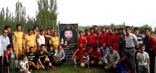 مسابقه فوتبال یادبود زندهیاد حاج عادل محمدیان