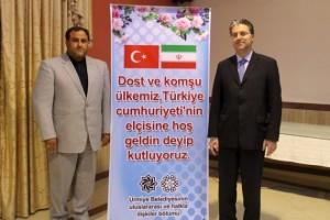 مجمد حضرت پور شهردار اورمیه با سفیر ترکیه در ایران