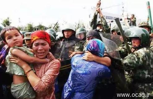 سرکوب ترکهای چین در ترکستان شرقی